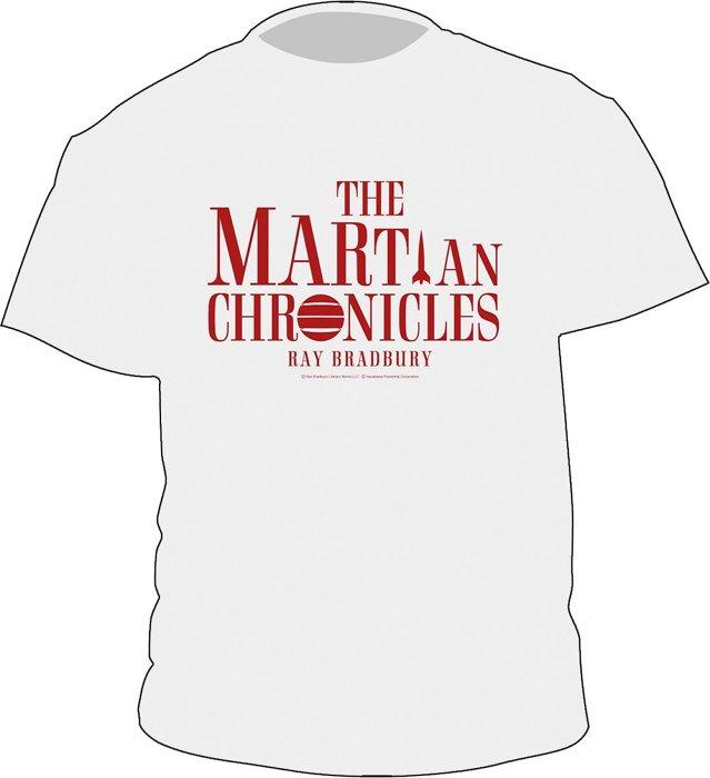 レイ・ブラッドベリ『火星年代記』Tシャツ