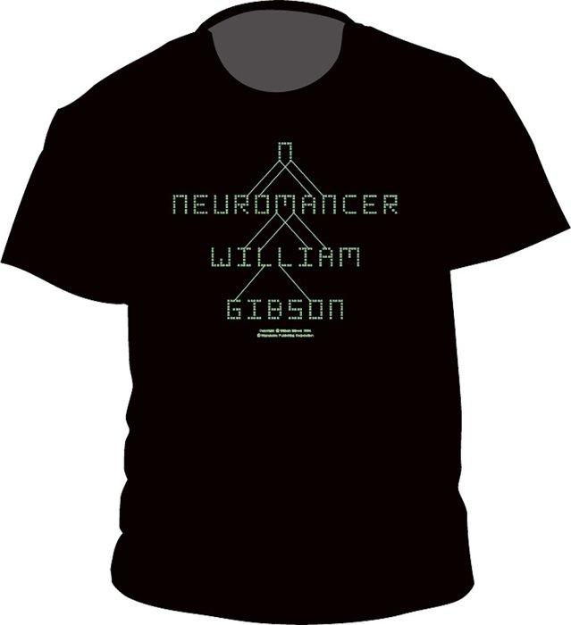 ウィリアム・ギブスン『ニューロマンサー』Tシャツ