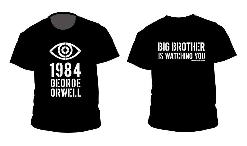 ジョージ・オーウェル『一九八四年』Tシャツ