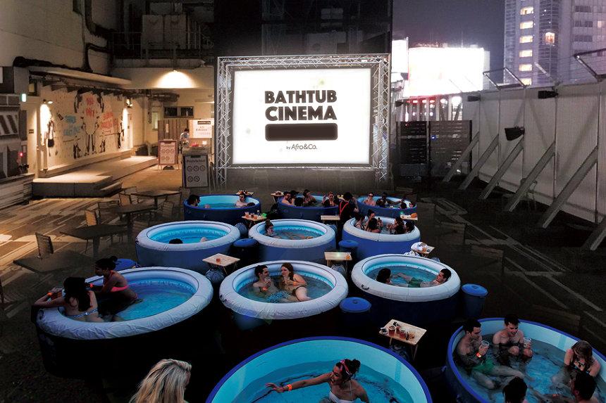 『BATHTUB CINEMA』イメージビジュアル