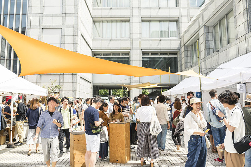 『Farmer's Market/Night Market at Kanda-Otemachi』イメージビジュアル