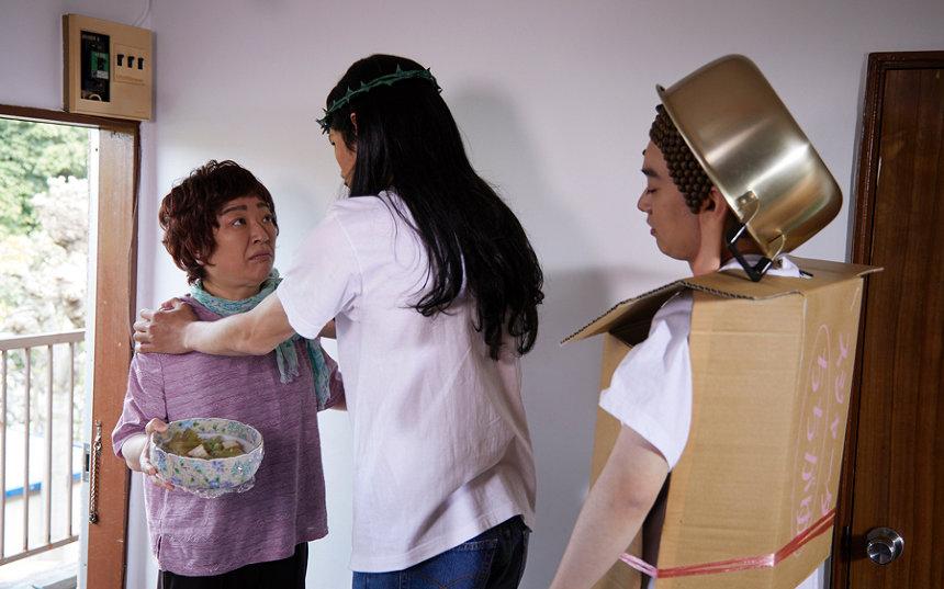 『聖☆おにいさん』 ©中村 光・講談社/パンチとロン毛 製作委員会