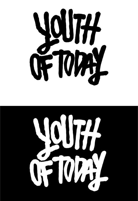『youth of today』ロゴ