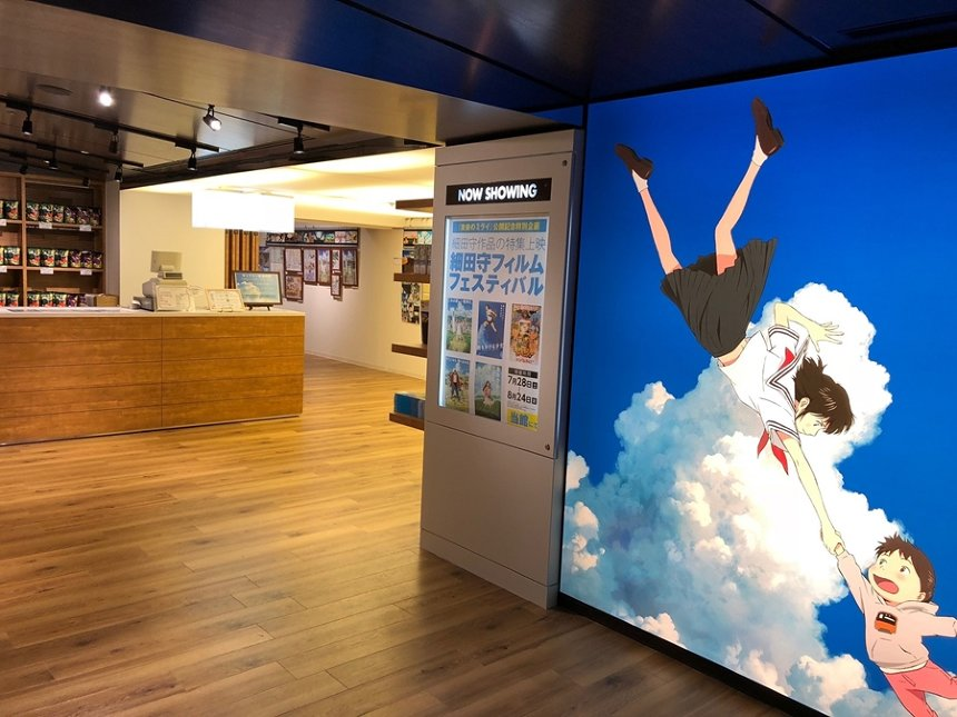 角川シネマ新宿 5階ギャラリー(エントランス)