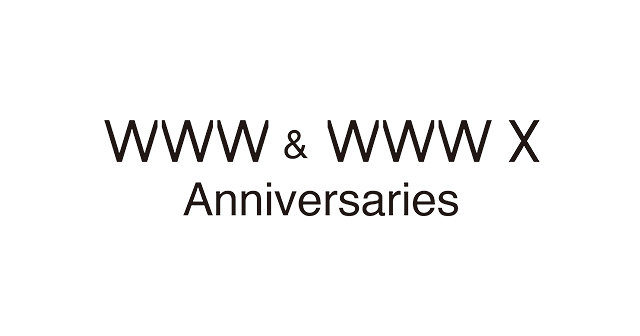 『WWW & WWW X Anniversaries』ロゴ
