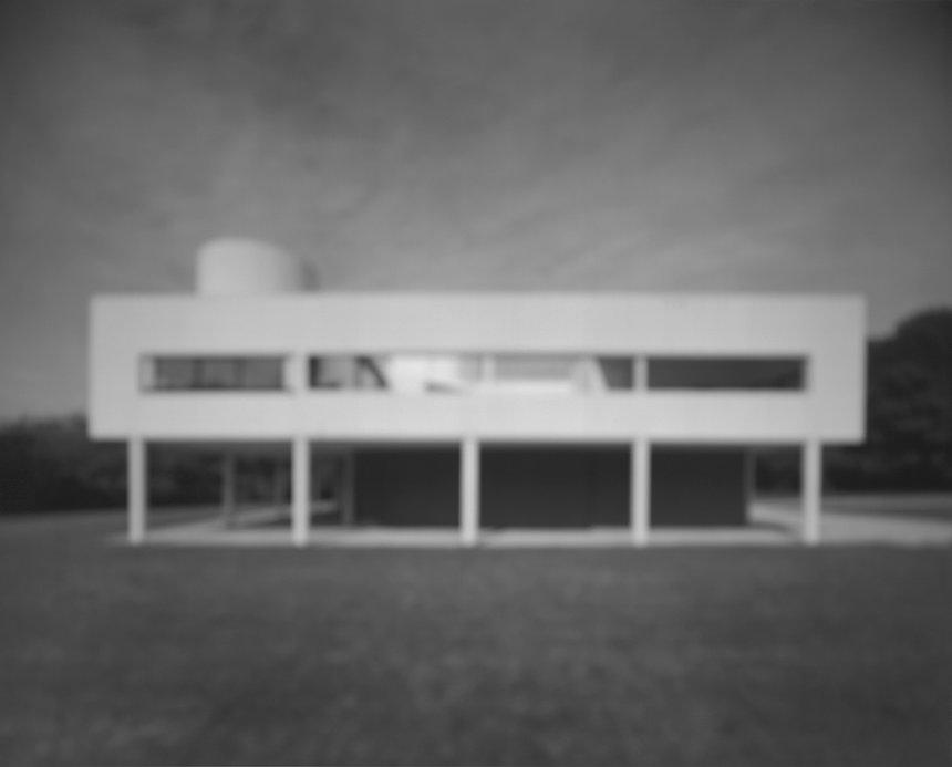 杉本博司「サヴォア邸」(建築家:ル・コルビュジエ)©Hiroshi Sugimoto/Courtesy of Gallery Koyanagi