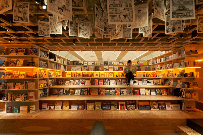 BOOK AND BED TOKYO 新宿店内観 ©BOOK AND BED TOKYO 2018