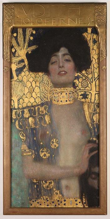 グスタフ・クリムト『ユディトI』 1901年 油彩、カンヴァス 84 x 42 cm ウィーン、ベルヴェデーレ宮オーストリア絵画館 ©Belvedere, Vienna, Photo: Johannes Stoll