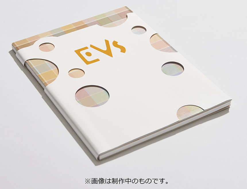 『EVs+cafe』ビジュアル ブック ©2018 Pokemon. ©1995-2018 Nintendo/Creatures Inc. /GAME FREAK inc.