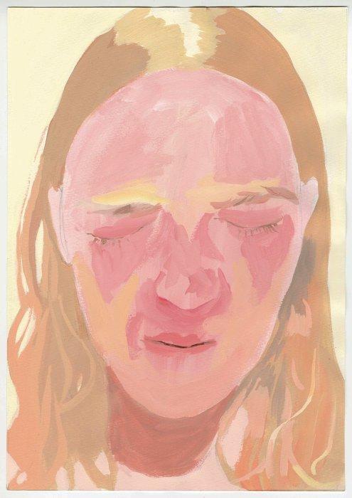 Mai Kurosaka『Face』29.7 × 21 cm /  ©The Mass