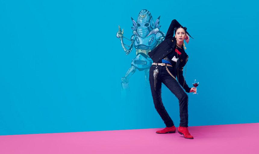 「ジョジョサピエンス」イメージビジュアル ©荒木飛呂彦&LUCKY LAND COMMUNICATIONS/集英社