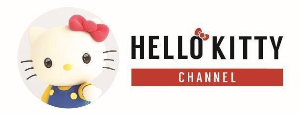 『HELLO KITTY CHANNEL』ロゴ ©'76, '18 SANRIO 著作 (株)サンリオ