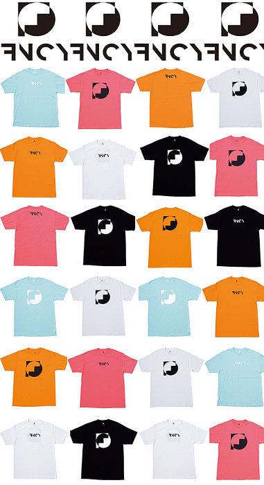FNCYオフィシャルショップ第1弾商品のTシャツビジュアル