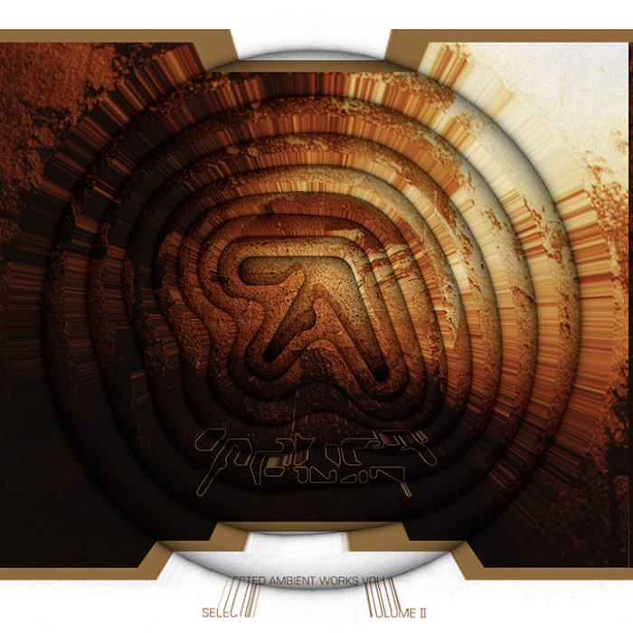 Aphex Twin『Selected Ambient Works Volume II』「崩壊(Collapse)」仕様ジャケット