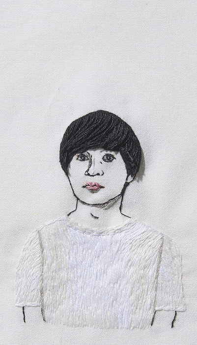 マテリアルクラブ hand embroidered by Kumi Kosuge
