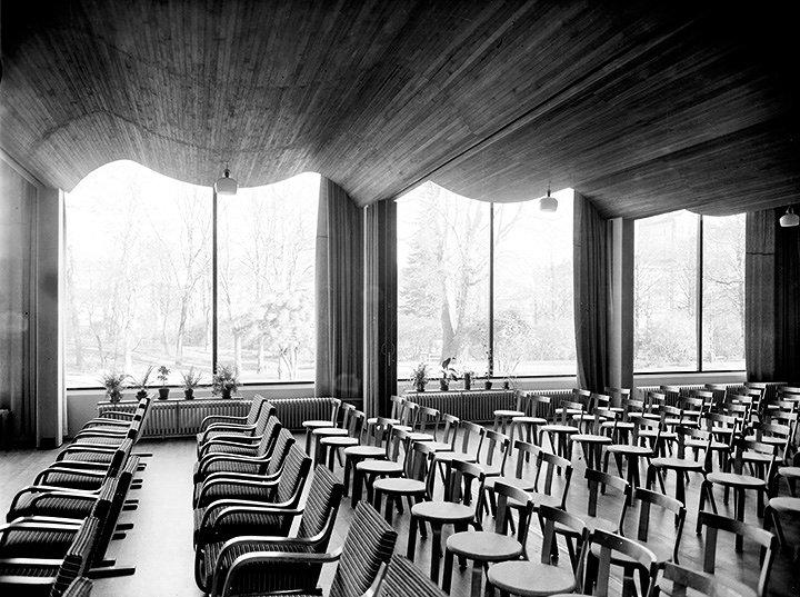 アルヴァ・アアルト『ヴィープリ(ヴィーボルク)市立図書館』1927-1935年 カレリア(現ロシア) Viipuri (Vyborg) City Library, Vyborg, Karelia (today Russia), Alvar Aalto, 1927-1935 ©Alvar Aalto Museum photo: Gustaf Welin