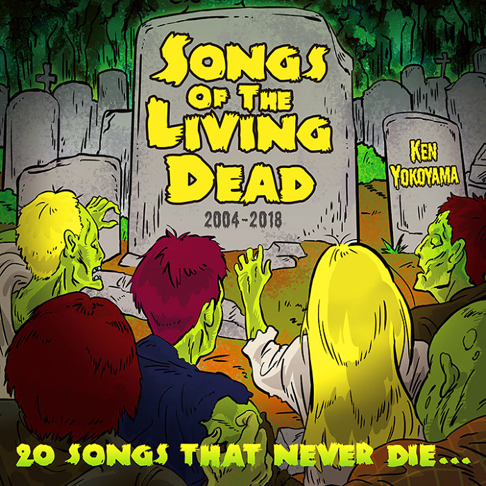 Ken Yokoyama『Songs Of The Living Dead』ジャケット