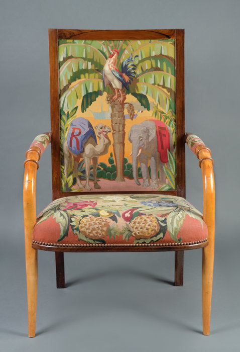 ルネ・プルー『肘掛け椅子』1933年、Collection du Mobilier national ©Isabelle Bideau