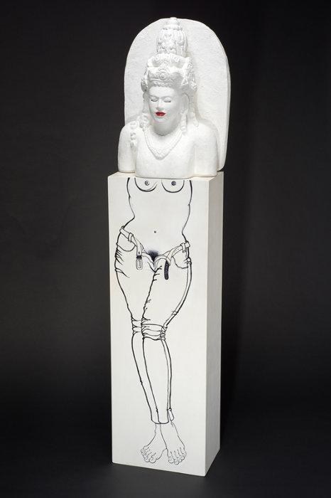 ジム・スパンカット『ケン・デデス』1975/1996年 ナショナル・ギャラリー・シンガポール蔵