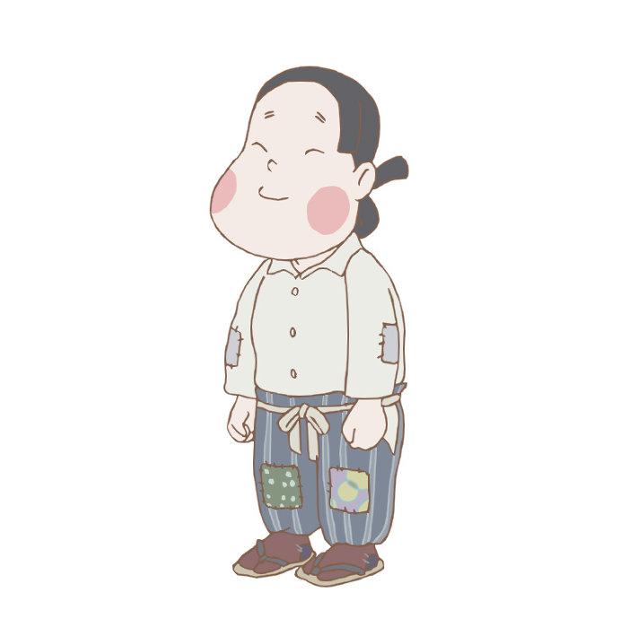 オオタフクコキャラクタービジュアル