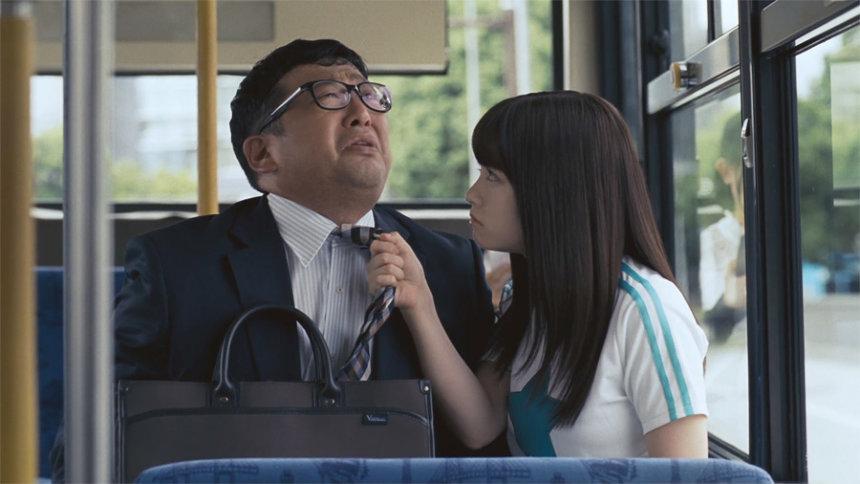 「アフラックの健康応援医療保険」新CM「あなたの健康を応援したい:バス」篇