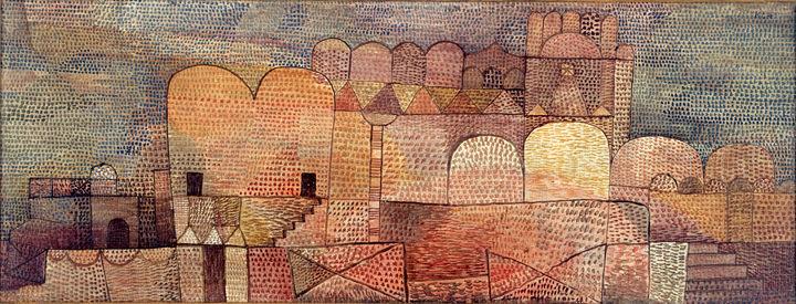 パウル・クレー『大聖堂(東方風の)』1932年 アサヒビール株式会社