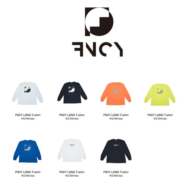 FNCYオリジナルロングTシャツ