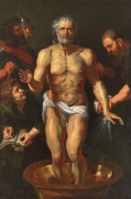 ペーテル・パウル・ルーベンス『セネカの死』1615/16年 油彩/カンヴァス マドリード、プラド美術館 ©Madrid, Museo Nacional del Prado