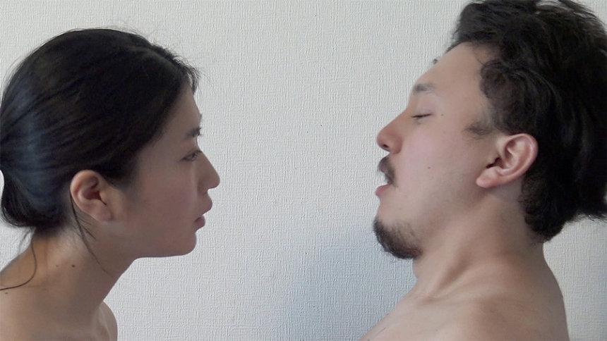 柳瀬安里『息の交換』16分48秒、映像、2018、エディション 5