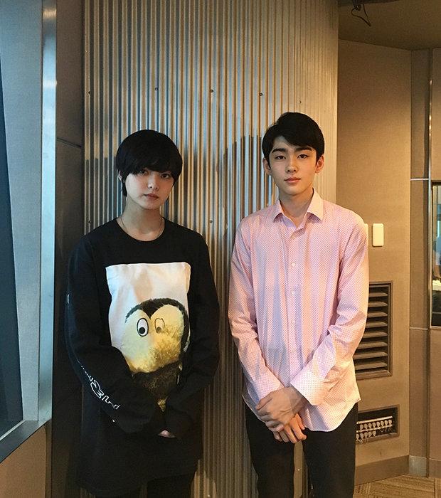 左から平手友梨奈(欅坂46)、市川染五郎