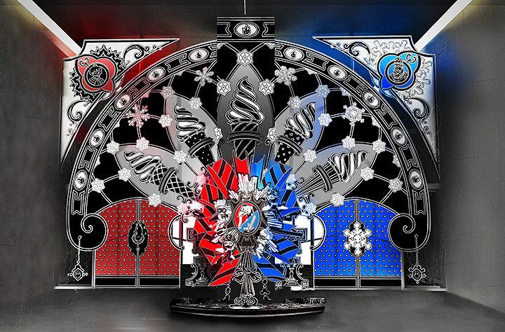 """ニコラ・ビュフ『""""Fantastic Gift"""" ~「冬の王国」と「夏の王国」の物語~』エントランス作品イメージビジュアル"""