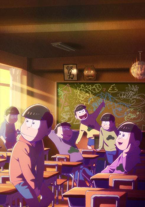『えいがのおそ松さん』ティザービジュアル ©赤塚不二夫/えいがのおそ松さん製作委員会 2019