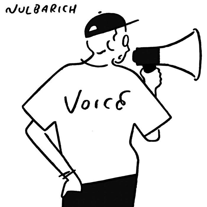 Nulbarich『VOICE』ジャケット