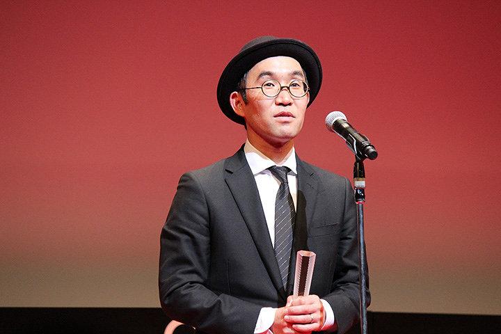 野尻克己監督 『第31回東京国際映画祭』授賞式より