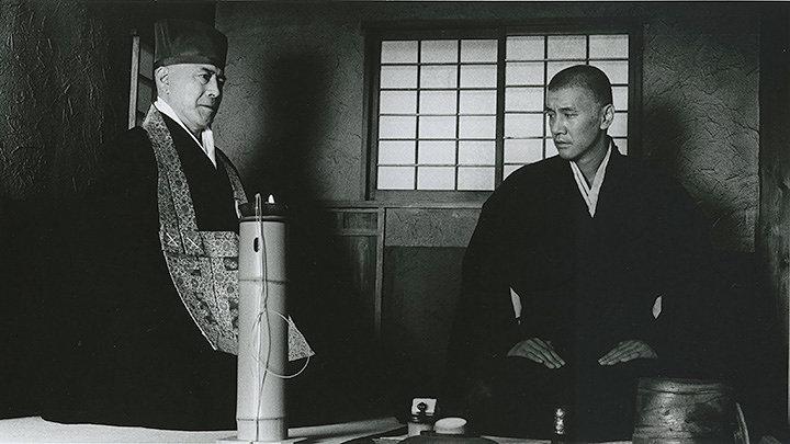 『本覺坊遺文 千利休』(監督:熊井啓)