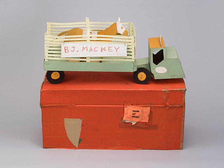 日比野克彦『BJ.MACKEY』1982年 岐阜県美術館蔵