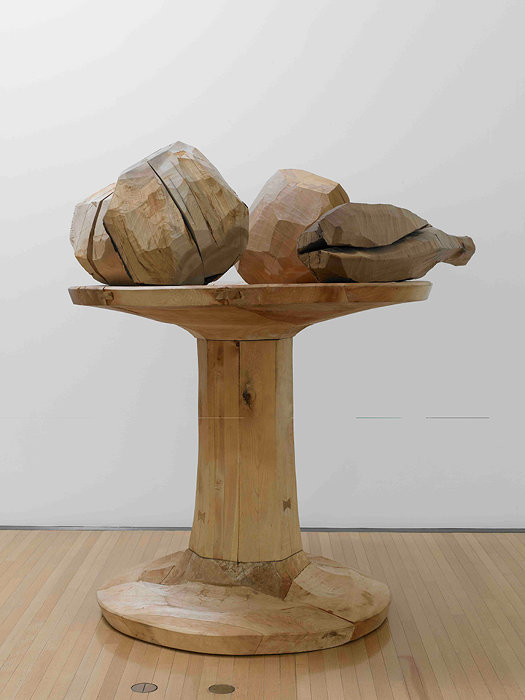 松井紫朗『carved goblet with four masses』1984年 豊田市美術館蔵