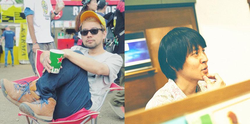 左から和田貴博(FLAKE RECORDS)、矢島和義(ココナッツディスク吉祥寺)