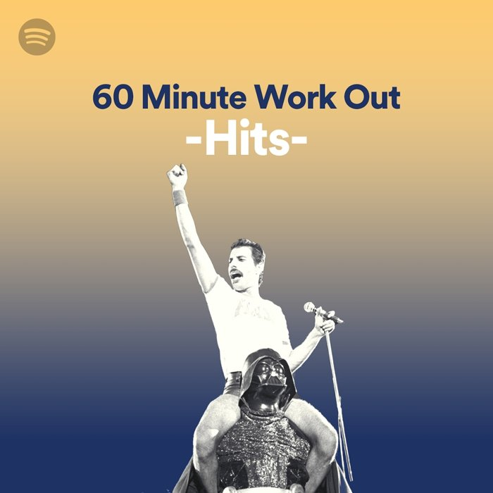 Spotify「60 Minute Work Out -Hits-」期間限定ビジュアル
