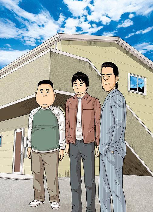 鈴木良雄『フルーツ宅配便』ビジュアル ©鈴木良雄/小学館