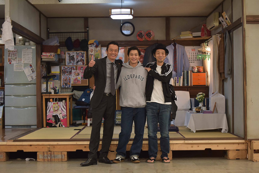 『遠藤憲一と宮藤官九郎の勉強させていただきます』グループショット