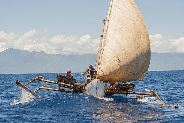 『縄文号とパクール号の航海』 ©Yohei SATO