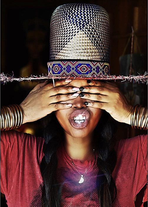 DJ Lo Down Loretta Brown aka Erykah Badu