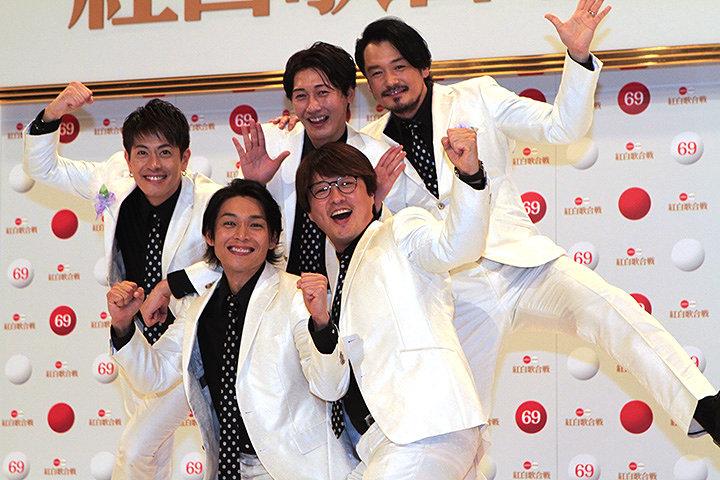 純烈 『第69回NHK紅白歌合戦』出場歌手発表会見より