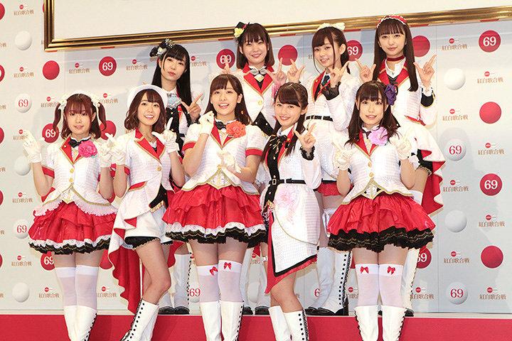 Aqours 『第69回NHK紅白歌合戦』出場歌手発表会見より
