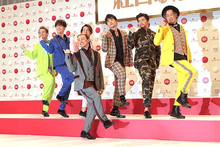 DA PUMP 『第69回NHK紅白歌合戦』出場歌手発表会見より