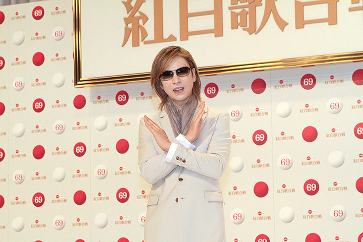 YOSHIKI 『第69回NHK紅白歌合戦』出場歌手発表会見より