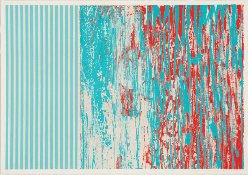 辰野登恵子『WORK 80-N-1』/1980年/シルクスクリーン、紙/撮影:大谷一郎 ©辰野剛、平出利恵子