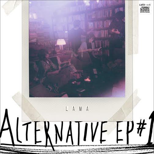 LAMA『ALTERNATIVE EP #1』ジャケット