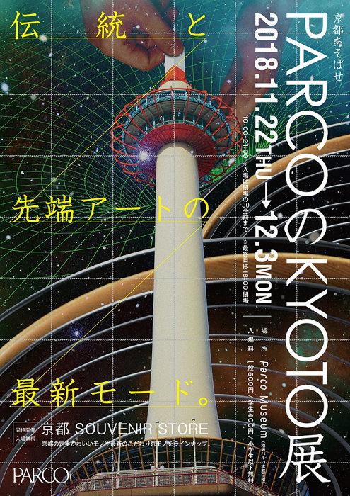 『PARCOのKYOTO展』ビジュアル